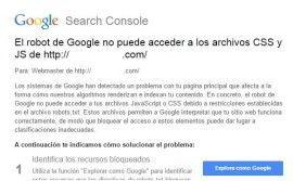 google-no-puede-acceder-css-javascript